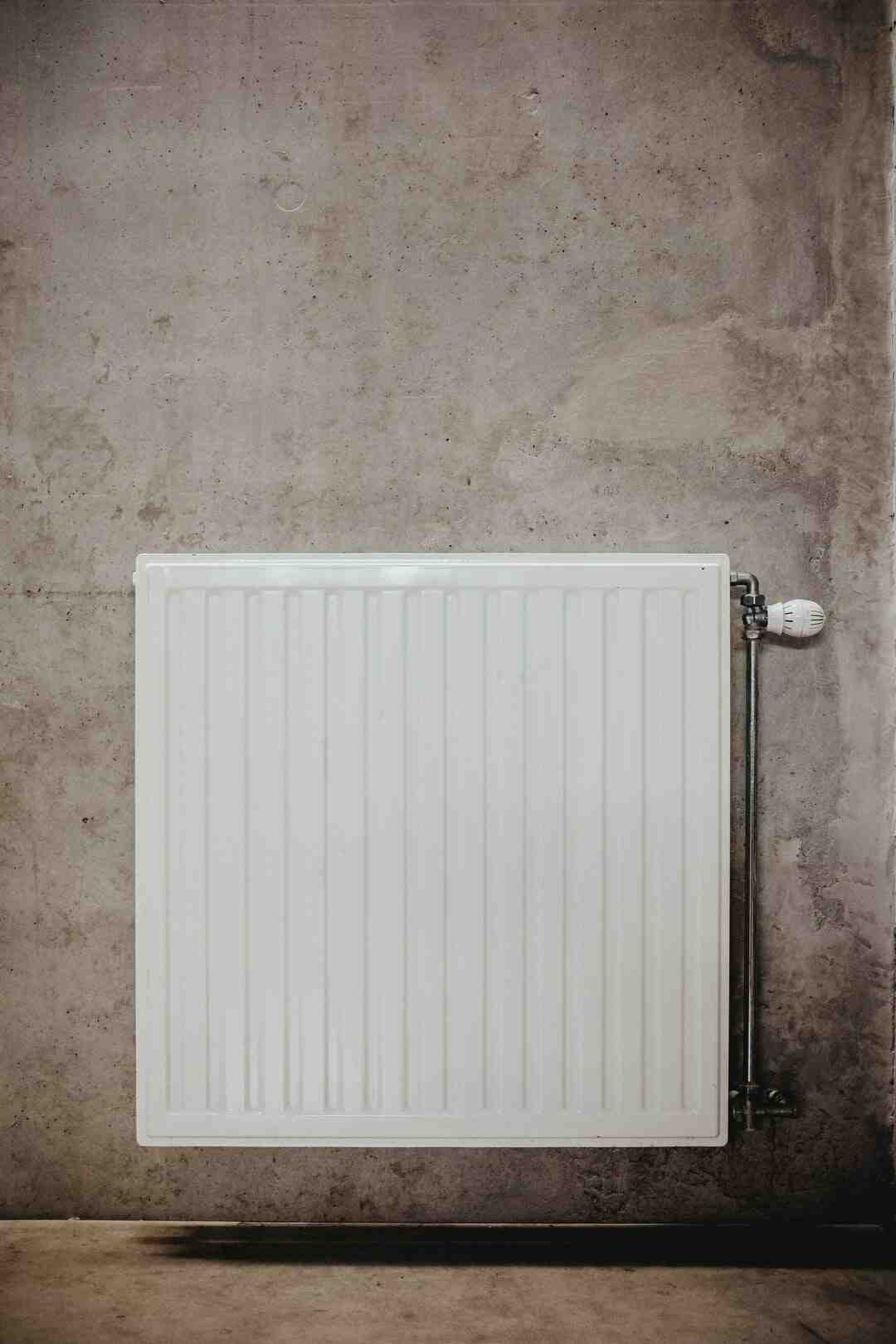 Comment nettoyer radiateur