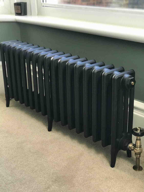 Comment purger un radiateur en fonte