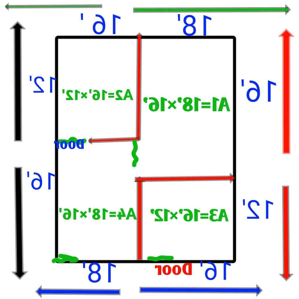 Comment calculer m2 mur pour carrelage ?