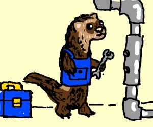 Plomberie comment utiliser un furet